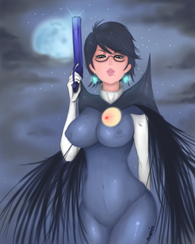 Wicked Witch in Star Light |Bayonetta by lampies22