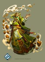 High Mage Quellen from Lair of the Wyrm by Catell-Ruz