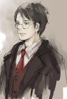 clerk Harry by luthienelf