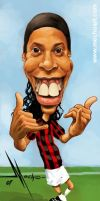 Ronaldinho by Mecho