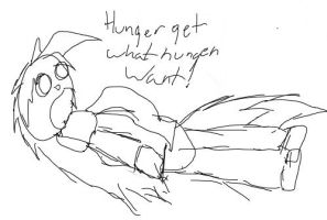 HUNGER GET WHAT HUNGER WANT by FallenFolf