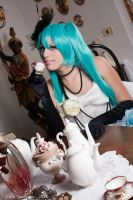 Miku Hatsune - Vocaloid (Camellia) by oShadowButterflyo