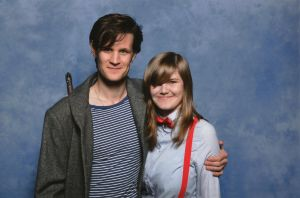 I MET MATT SMITH! by drawingdream