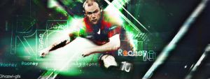 Wayne Rooney by Ghazwi-Mohamed