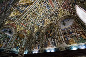 Piccolomini Library Frescoes by rhipster