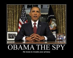 Obama the spy by Balddog4