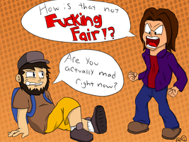 Are You Serious!? ~Game Grumps by MarioKid97