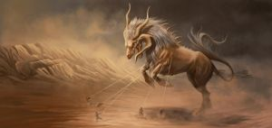 Catching a Sandstorm by NooKiN
