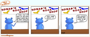 Ndbag the Boogeyman Comic 309 by ndbag