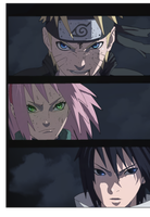 NARUTO 632 Team 7 ready to go by Tp1mde