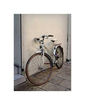 White Bike on White by zasu