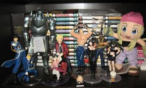 My FMA collection by NearRyuzaki90