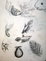 Sketches for alternate ecosyst by PonderosaPower