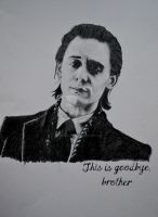 Loki - This is goodbye, brother by HeleneSaether