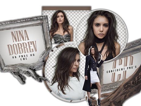 Png Pack 630 // Nina Dobrev by confidentpngs