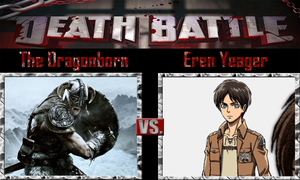 The Dragonborn vs Eren Yeager by SonicPal