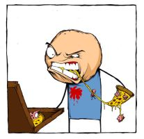 Cyanide Pizza by ShawnCoss