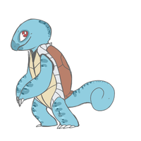 Squirtle by Ferbiedragon
