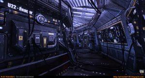 Sci-Fi Corridor v.1 [UDK] by amirabd2130