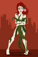 Gotham's Rogues: Poison Ivy by rickytherockstar