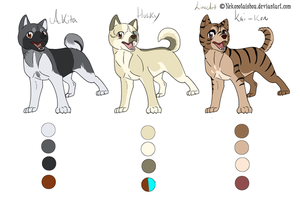 Ginga Adopts 1 by Whitelupine