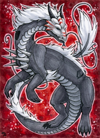 ACEO for Blackie by Dragarta