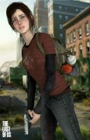 The Last of Us - Ellie  by AlexCroft25