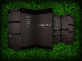 menu card design by Goerni