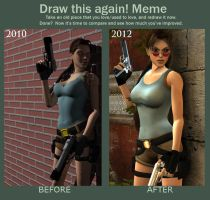 draw this again: Tomb raider 2: Venice by doppeL-zgz