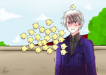 :: Prussia, the 'Chick' Magnet :: by Sei-G