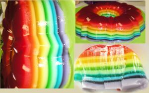 Rainbow Jello by Emelsu