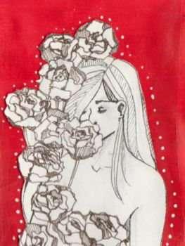 Roses by iwasthemoon
