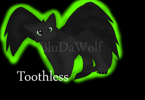 Toothless 2 by BluDaWolf