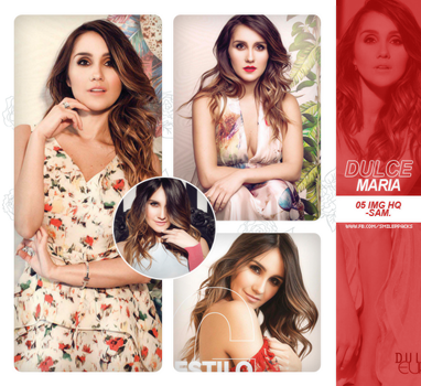 Photopack #170 - Dulce Maria. by TheNightingale01