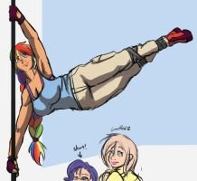 Street Acrobatics is Magic by samutoka