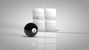 Windows 8 Ball by monkeymagico