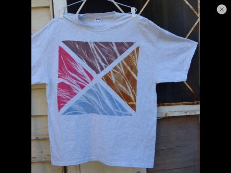 Sun printed multi colour tshirt original design by SewObession