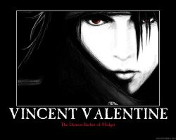 Vincent Valentine Motivational by HC-IIIX