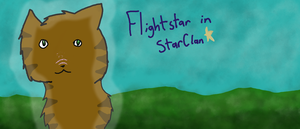 Flightstar In StarClan by JayThePheonix
