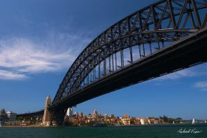 Harbour Bridge by robertvine