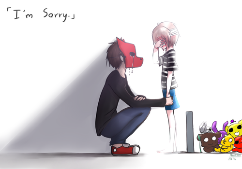 Fnaf 4 : I'm Sorry by AllenCRIST