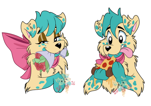 Roses To Pizzas by PizzaPupperRoni