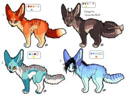 FREE fennec adoptables +cm. by Velyra