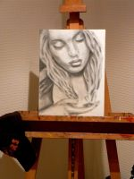 30 Minute charcoal challenge by M--Art