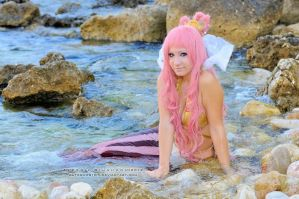 Shirahoshi - One Piece cosplay by Daisy-Cos
