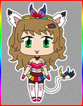 [CLOSED] Colorful Kitty Adoptable Auction by izka197