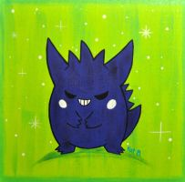 Gengar by fuish