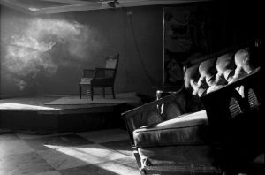 Chair Noir One by Climacticus