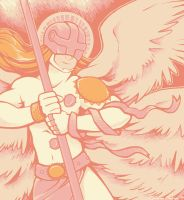 Palette 18: Angemon by CatusSnake