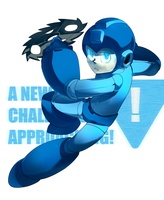 A NEW CHALLENGER APPROACHING by Nyaph